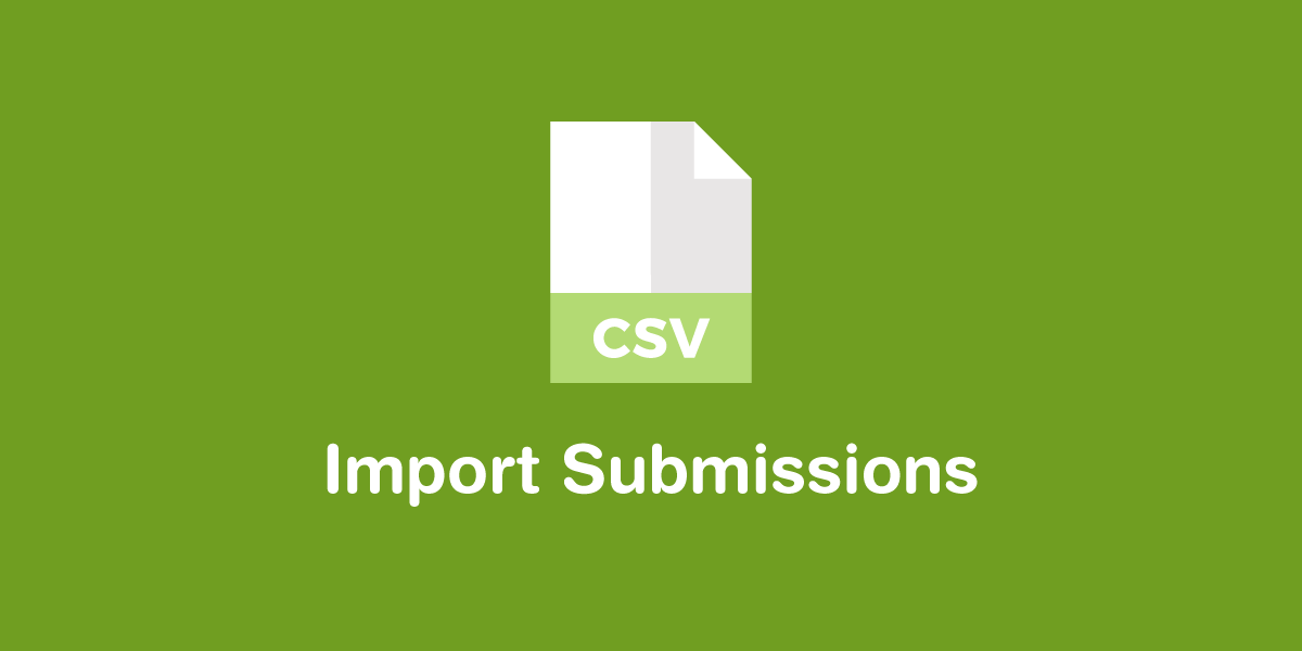 Import Submissions